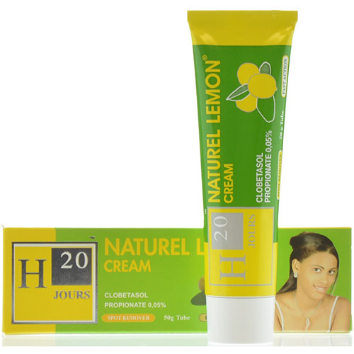 h20.natural lemon cream