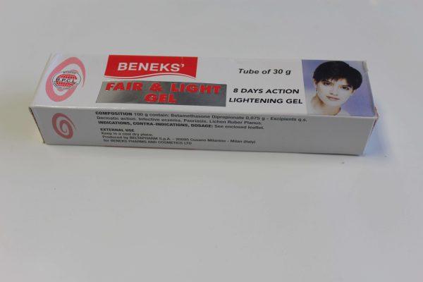 Beneks Fair And Light Cream