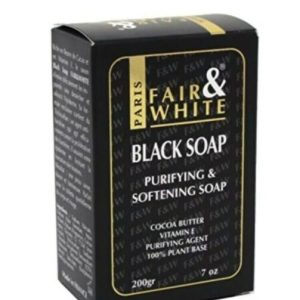 Fair And White Black Soap
