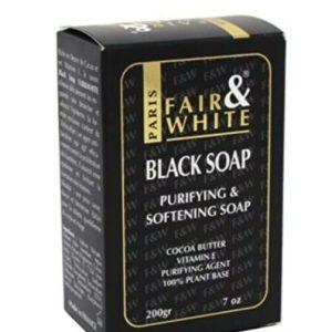 Fair And White Black Soap