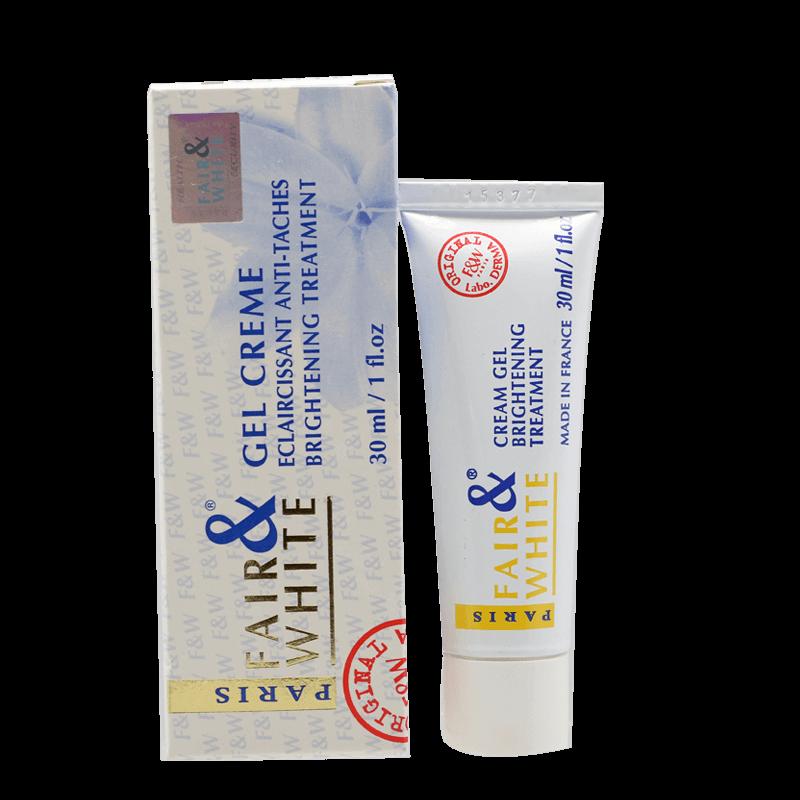 Fair & White Gel Creme Eclaircissant Anti-taches | Fragrances, Skin Care,  Cosmetics | Sholak Fragrances